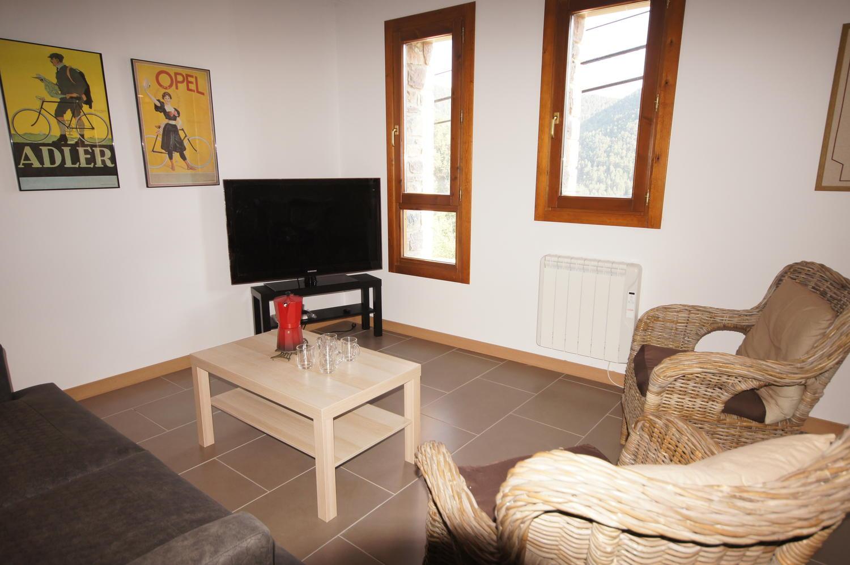 Casa -                                       Bisaurri -                                       3 dormitorios -                                       6 ocupantes